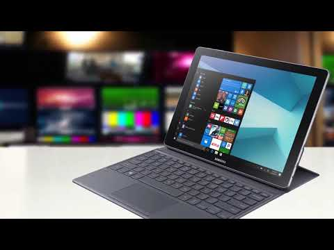 "Samsung Galaxy Book 12"" Windows 2 in 1 PC SM W720NZKAXAR Review"