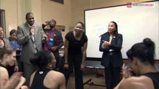 South Carolina Locker Room Celebration - Women