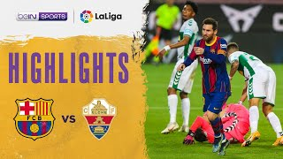 Barcelona 3-0 Elche | LaLiga 20/21 Match Highlights