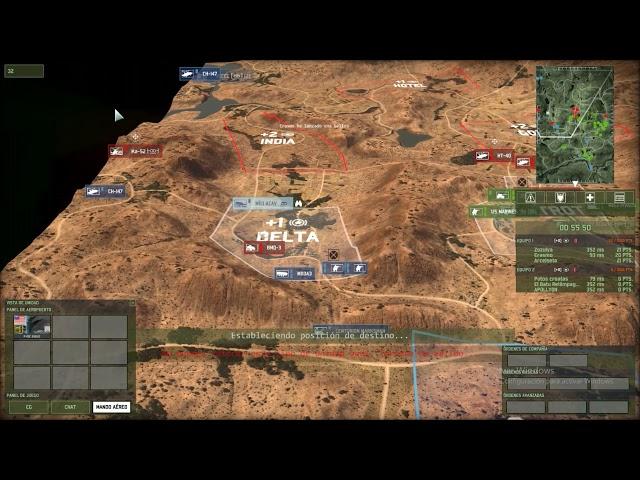 Matamos a su general en el último segundo  | 3vs3 | Wargame Red Dragon | #42