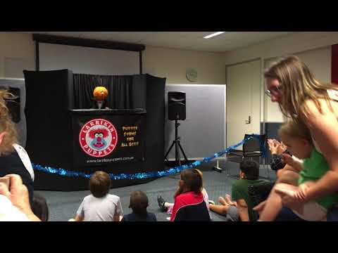 24-11-2017 Logan central library Larrikin Puppets
