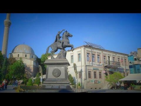 Macedonian Postcards: Sirok Sokak Street, Bitola