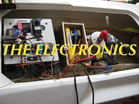 Zenoah Engine Boat build Part - 11 - The Main Electrics Done.