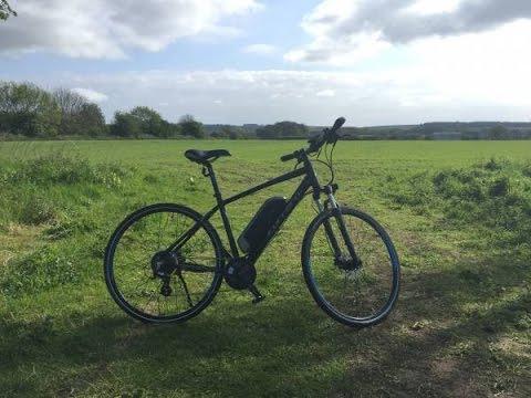 Carrera Crossfire-E Electric Bike Review