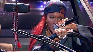 Анна Шульгина. Rihanna — «Bitch Better Have My Money». Точь‑в‑точь. Фрагмент выпуска от 25.10.2015