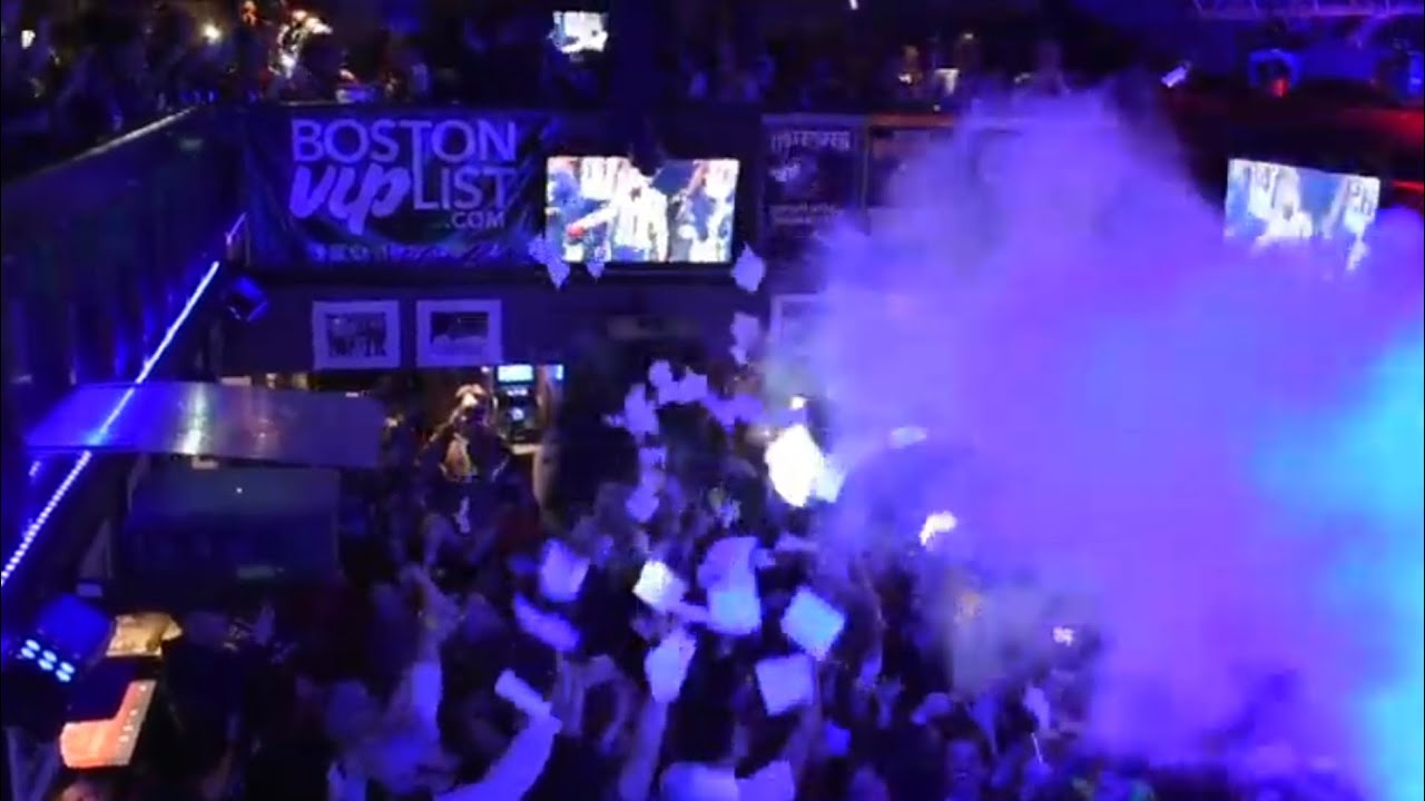 NEW ENGLAND PATRIOTS FANS REACT TO SUPER BOWL LIII IN DOWNTOWN BOSTON