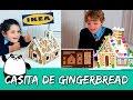 CASITA DE GALLETAS de JENGIBRE * Montamos la Gingerbread house de IKEA