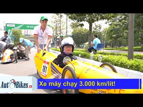 Xe Máy Chạy Hơn 3.000 Km/lít Tại Việt Nam!