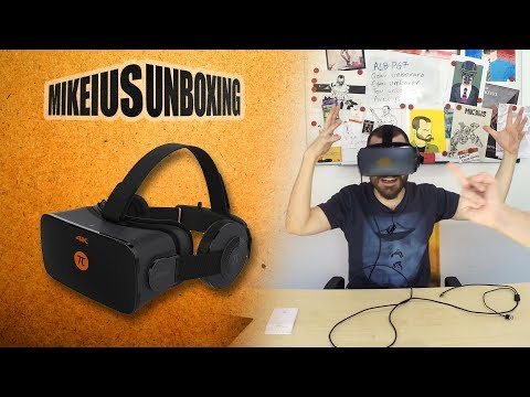 PIMAX 4k VR Headset - Mikeius Unboxing