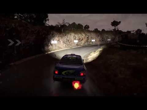 Dirt 4 Subaru Impreza WRC 2001 Gameplay in rainy Spain + Replay & Helicam, Chasecam, Cockpit, Bumper