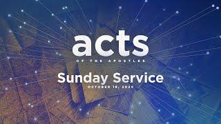 Sunday Service - October 18, 2020