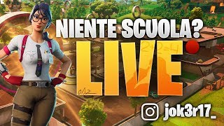 LIVE FORTNITE – GIOCO CON VOI – CONTEST 1500 V BUCK – ARENA 375 PUNTI – jok3r17_ on YT