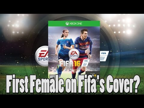 First Ever Female Athlete on Fifa 16 Cover!