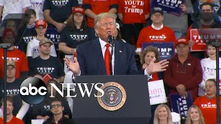 Trump says House Democrats' articles of impeachment attempt to stop his second term l ABC News