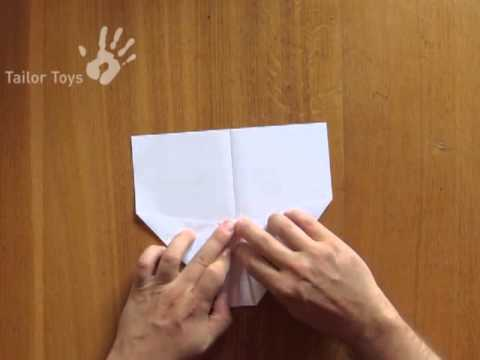 POWERUP - How to fold the best electric paper airplane