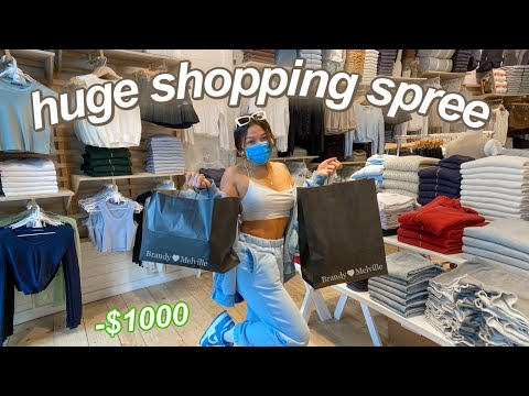 NO BUDGET SHOPPING SPREE IN LA! come shopping w/ me vlog