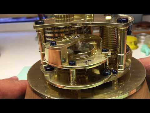 Complete Restoration of an English Marine Chronometer James McCabe - El Cronometrista