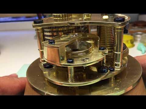 Complete Restoration of an English Marine Chronometer James McCabe - El Cronometrista