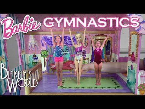 Barbie Gymnastics with