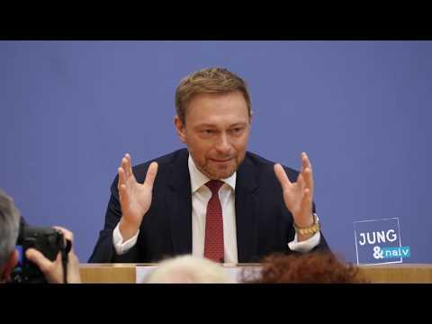 FDP-Chef Christian Lindner zum Koalitionsvertrag - BPK vom 12. März 2018