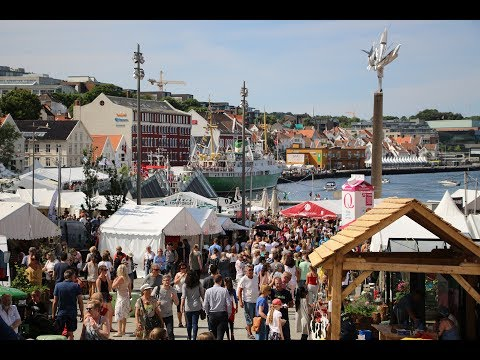 Gladmat 2017 - Stavanger's biggest yearly party for all.