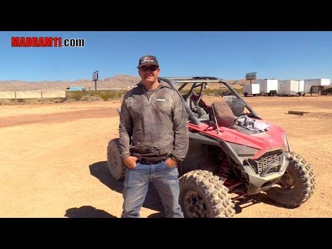 TEST DRIVING THE BRAND NEW 2020 POLARS PRO TURBO RZR WITH LOREN HEALY