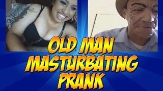 old man masturbating prank   forevergaining   bs videos
