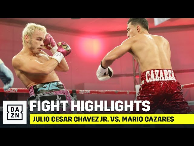HIGHLIGHTS | Julio Cesar Chavez Jr. vs. Mario Cazares