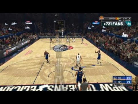 NBA 2K20 Powerful Westbrook Style Posterizer Dunk On Defender In Career