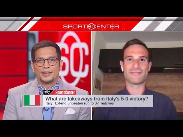 Adriano on ESPN SportsCenter (09/09/21)