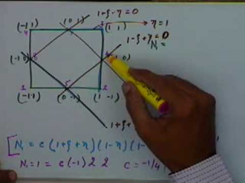 Lecture - 28 3D - Tetrahedral and 2D - Quadrilateral Element