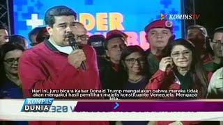 Presiden Venezuela Nicolas Maduro Klaim Kemenangan