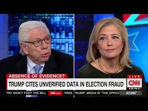 'This is the birther conspiracy all over again': Carl Bernstein nails voter fraud conspiracy 'quack'