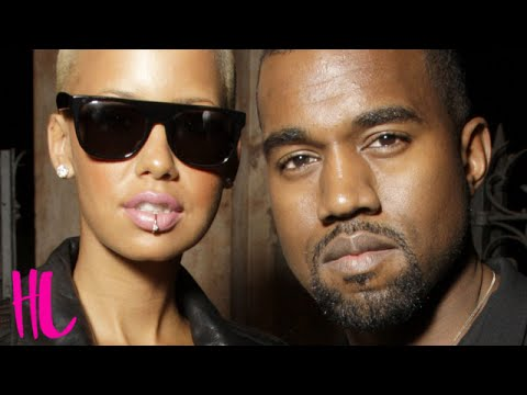 Kanye West Disses Ex Amber Rose In New Leaked Song