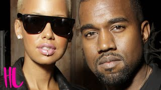 Kanye west slams ex amber rose in new song leaked off his upcoming album 'swish' despite being married to kim kardashian. starring chloe melas produced & dir...