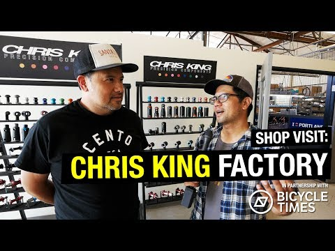 SHOP VISIT: Chris King Precision Components (Bike Component Heaven!)