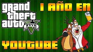 1 año en Youtube, Santa Claus está bien Borracho! - GTA V - Los Patea Pelotas