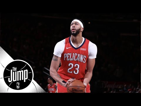 Reactions to Anthony Davis' 48-point game against Knicks | The Jump | ESPN
