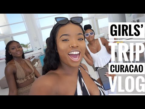 CURACAO VLOG: Girls Trip || Gifty's 24th birthday turn up ||