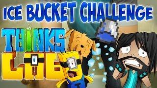ICE BUCKET CHALLENGE | Think's Lab Minecraft Mods [Minecraft Roleplay]