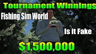 fishing sim world Tournament Winnings from Mp Need To Know!