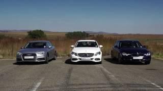Episode 354 - Comparison: Audi A4 Vs Mercedes-Benz C180 Vs Bmw 318i