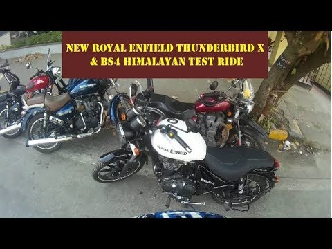 New RE Thunderbird X & BS4 Himalayan Test Ride & Review
