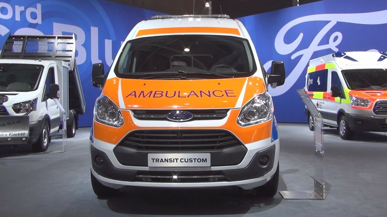 ford transit custom combi trend 340 l2h2 2 0 tdci ambulance 2017 exterior and interior youtube. Black Bedroom Furniture Sets. Home Design Ideas