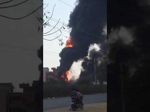 Oil factory Accident