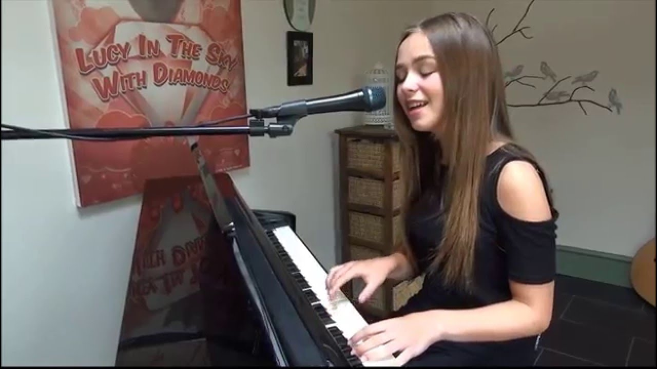 Chandelier by sia (Live) Feat Connie Talbot - YouTube