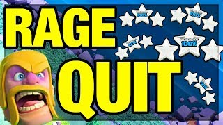 RAGE QUIT? Clash of Clans - WHY Players Do It