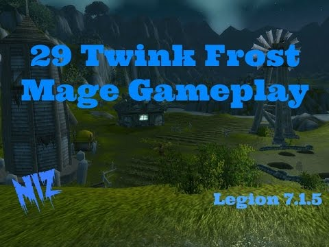 29 Twink Frost Mage Gameplay Legion 7.1.5