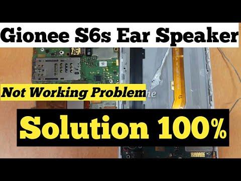 Gionee S6s Ear Speaker Problem Solution   !!!!