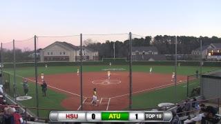 Reddies Softball vs. Arkansas Tech (Games 1 & 2)   Feb. 24, 2019